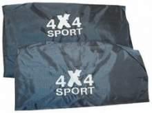 Грязезащитные чехлы на передние и заднее сидения - комплект можно купить в 4x4mag.ru