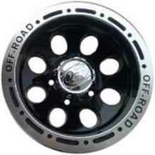 Диск литой LF Works Dick LF9096 8,0x16/5x139,7 ET-27 110 BL (Черный с полированным ободом) можно купить в 4x4mag.ru