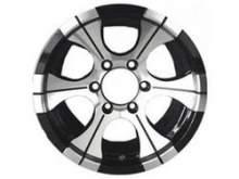 Диск LF Works Dick LF114 BS цвет: Алмаз (Черно Серебристый); размер 8,5x15/ посадка 5x114,3; вылет ET-30; центральное отверстие D 110 мм можно купить в 4x4mag.ru