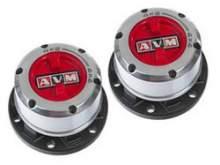 Колесные хабы ручные усиленные AVM-452HP, для Nissan Mistral/ D21/Terrano II после 1991г. можно купить в 4x4mag.ru
