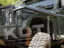 Защита крыльев - Land Rover Defender Арт. 1104 можно купить в 4x4mag.ru