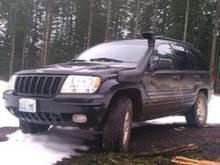 Шноркель Safari на Jeep Grand Cherokee WJ 1999-04 (SS1145HF) можно купить в 4x4mag.ru