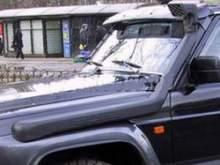 Шноркель Nissan GU Patrol 4.5Litre-I6  бензин  с 1997 - 2000, левый можно купить в 4x4mag.ru