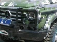 Защита передней оптики Mercedes-Benz G-класс можно купить в 4x4mag.ru