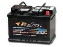 Аккумулятор гелевый Deka/Intimidator 60Аh(CCA600) обр.полярность можно купить в 4x4mag.ru