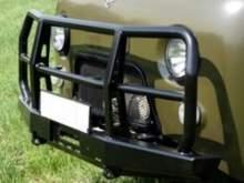 Бампер РИФ передний УАЗ буханка универсальный с кенгурином можно купить в 4x4mag.ru