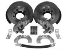 Комплект дисковых тормозов УАЗ задний мост Спайсер / Патриот с 2013 г. C ручным тормозом можно купить в 4x4mag.ru