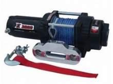 Лебедка для квадроцикла электрическая с синтетическим тросом MW X3000S можно купить в 4x4mag.ru