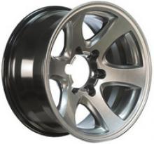Диск колесный легкосплавный кованный АНАБАР для Toyota посадка 5х150; размер 8x16; вылет ET-15;  центральное отверстие D110;  цвет:ауди блэк можно купить в 4x4mag.ru