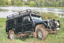 Багажник силовой восьмиопорный с сеткой 1,4м х2,8м можно купить в 4x4mag.ru