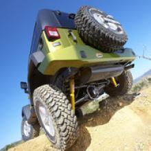 Jeep Wrangler JK задний бампер можно купить в 4x4mag.ru