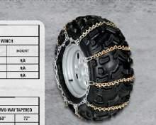 ARCTIC CAT Цепь на колесо (колеса 24 & 25 дюймов) можно купить в 4x4mag.ru