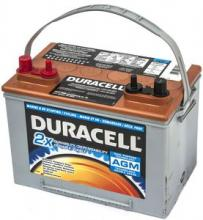 Аккумулятор гелевый DURACELL AGM 75Ah 795A можно купить в 4x4mag.ru