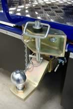 ALPINA SNOWMOBILE Фаркоп (Removable 50mm. Ball-hitch assembly) можно купить в 4x4mag.ru