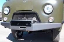 Бампер передний УАЗ Буханка с площадкой под лебёдку Спрут стандарт можно купить в 4x4mag.ru