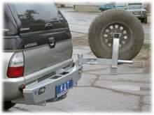 Калитка крепления запасного колеса можно купить в 4x4mag.ru