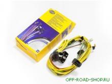 Комплект проводки для фар Hella Rallye 4000 можно купить в 4x4mag.ru