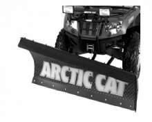 """ARCTIC CAT Отвал снегоуборочный 60"""" (152 см) (косой) (желтый). Дополнительно потребуется: 0436-636 (рама-толкатель); 0436-635 (крепление отвала) можно купить в 4x4mag.ru"""