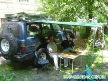 Тент полеуритановый (AWNING) 2.40mX1.80m можно купить в 4x4mag.ru