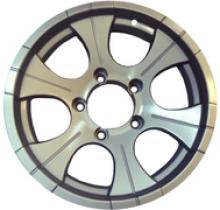 Диск колёсный легкосплавный литой LF посадка 5x139,7  УАЗ  размер 8х15  вылет ET-25  центральное отверстие D110  цвет: серебристый. можно купить в 4x4mag.ru