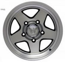 Диск колесный легкосплавный литой LENSO (Тайланд) для УАЗ посадка 5х139,7; размер 8x16; вылет ET-25; центральное отверстие D110 можно купить в 4x4mag.ru