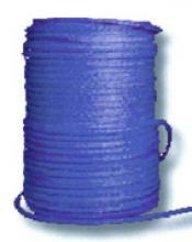 Синтетический трос D - 9 мм (КДТ, синий, нагрузка - 8100 кг.) можно купить в 4x4mag.ru